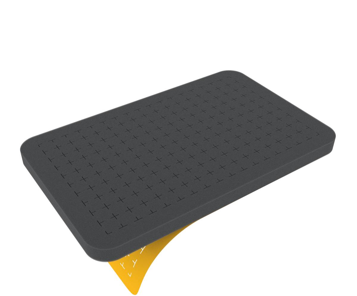 HS015RS half-size Raster-Schaumstoff 15 mm selbstklebend