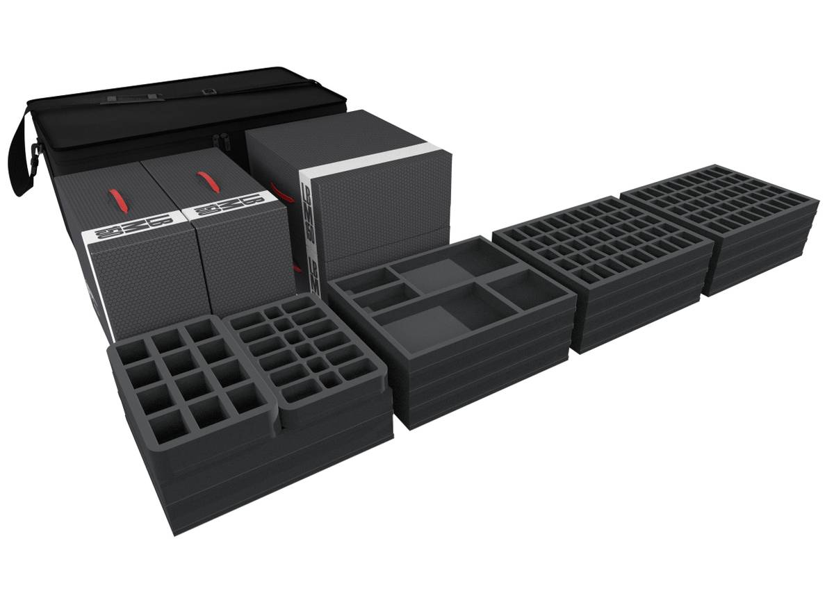 Transporter for more than 500 Zombicide figures and accessories