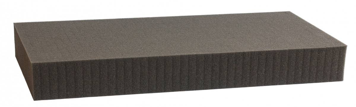 1000 mm x 500 mm x 60 mm - Raster 15 mm - Pick and Pluck / Pre-Cubed foam tray