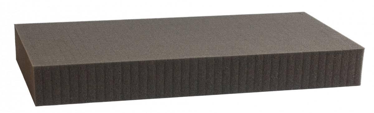 1000 mm x 500 mm x 60 mm Rasterschaumstoff Würfelschaum - Rasterweite 15 mm