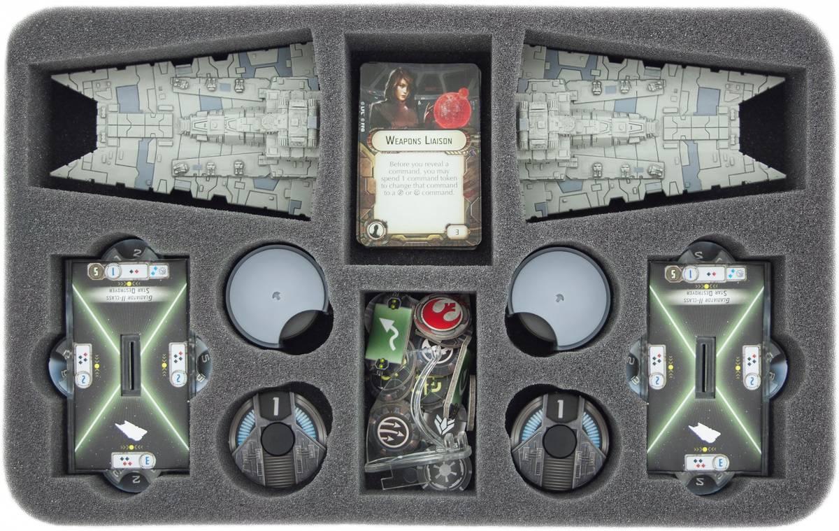 HSCP040BO Schaumstoffeinlage für Star Wars Armada Sternenzerstörer der Gladiator-Klasse