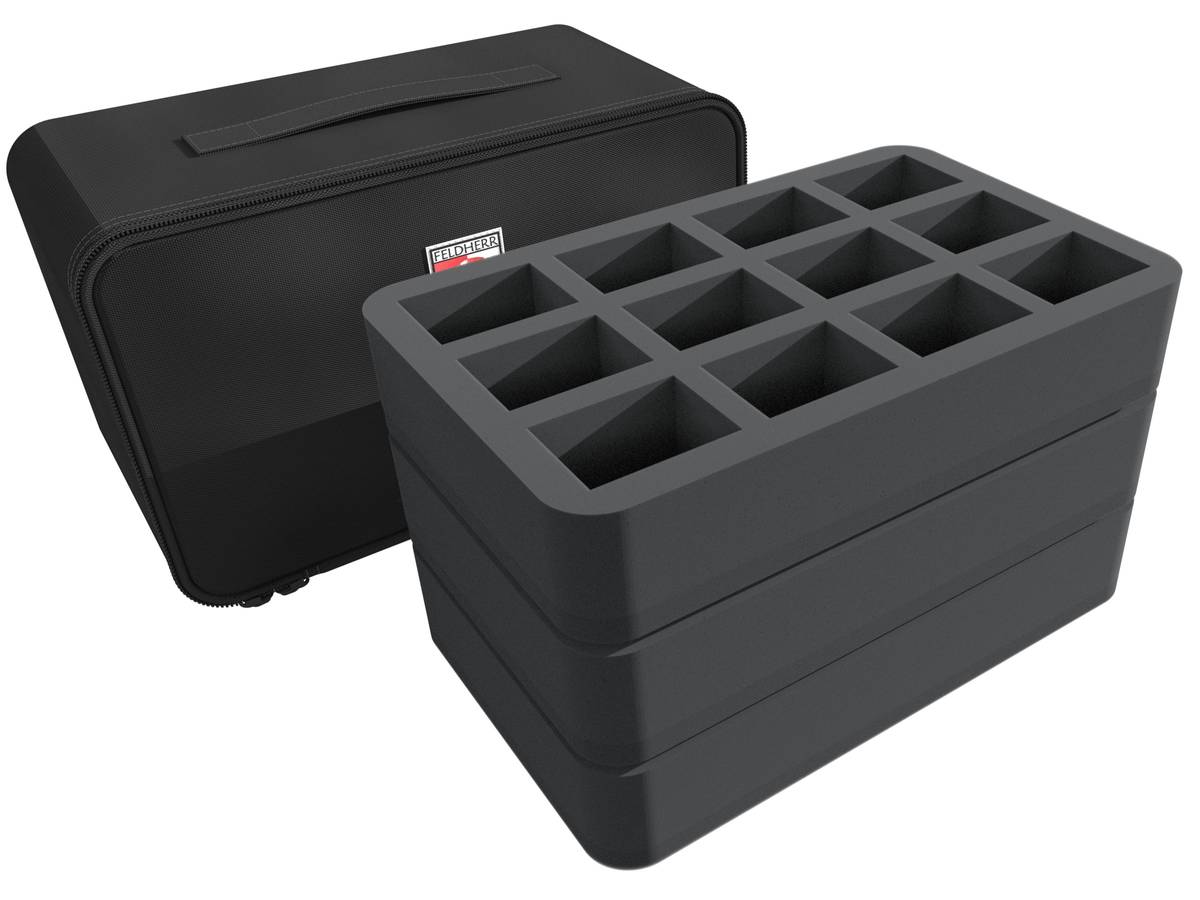 Feldherr MINI PLUS Case for 32 Krosmaster miniatures