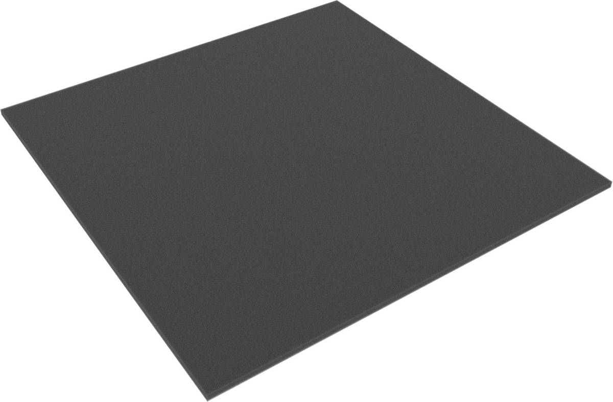 AFBA004 285 mm x 285 mm x 4 mm Schaumstoffzuschnitt / Schaumstoff Platte