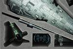 FSDB090BO (3.54 inches) foam tray for Star Wars X-WING Imperial Raider