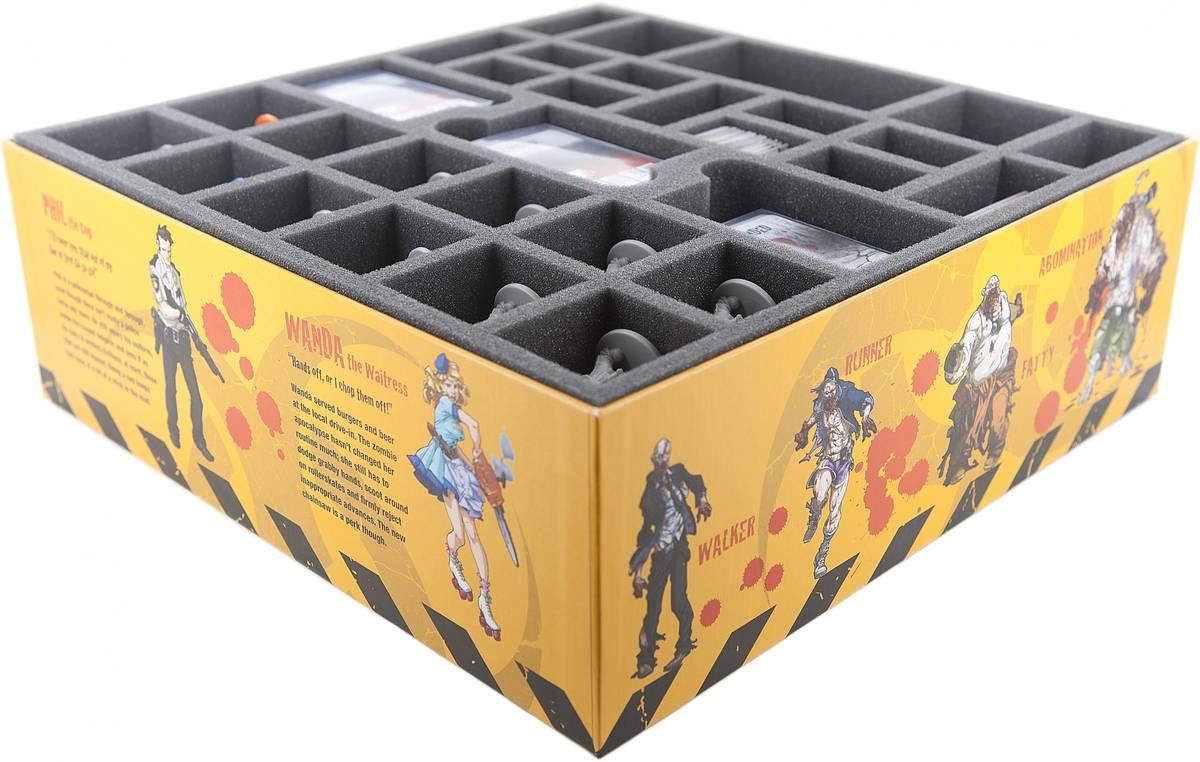 Schaumstoff-Set für Zombicide Staffel 1 Grundspiel Box