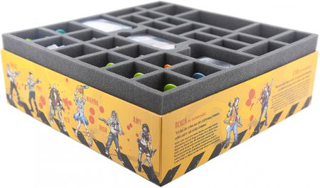 Schaumstoff-Set für Zombicide Toxic City Mall Box