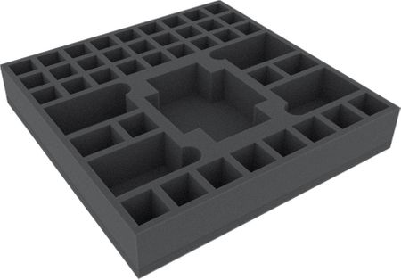 AGDK050BO 295 mm x 295 mm x 50 mm (2 inches) foam tray for board game boxes