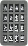 Feldherr MINI Case for 32 Blood Bowl miniatures on 25 mm (1 inch) bases (until 2015)