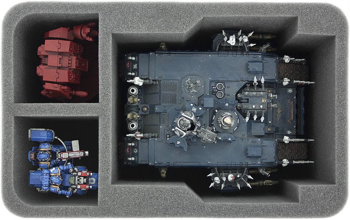 HSDV110BO Schaumstoffeinlage für Land Raider und Cybot