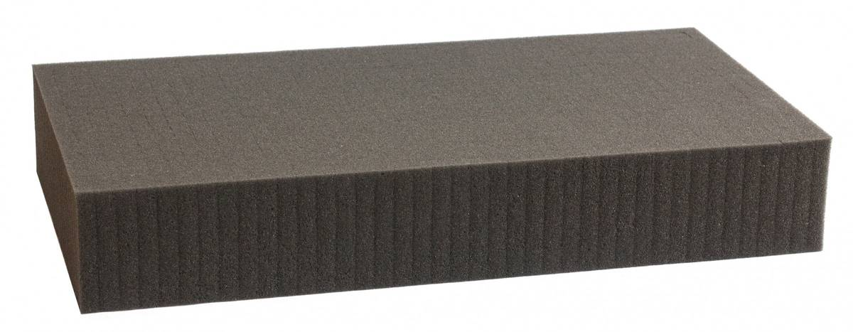 500 mm x 400 mm x 80 mm - Raster 15 mm - Pick and Pluck / Pre-Cubed foam tray