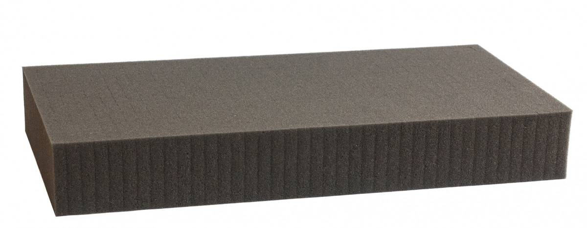 550 mm x 350 mm x 70 mm - Raster 15 mm - Pick and Pluck / Pre-Cubed foam tray