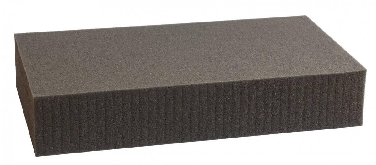 750 mm x 550 mm x 90 mm Rasterschaumstoff Würfelschaum - Rasterweite 15 mm