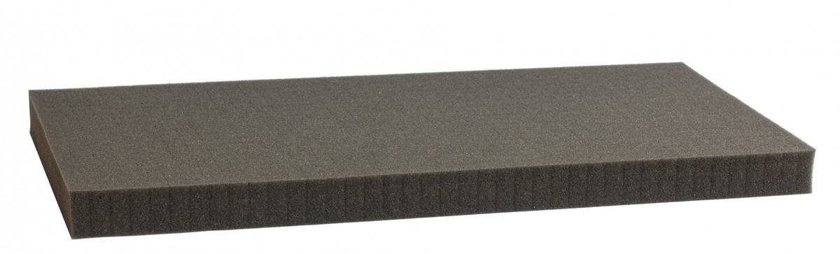 850 mm x 450 mm x 30 mm - Raster 15 mm - Pick and Pluck / Pre-Cubed foam tray