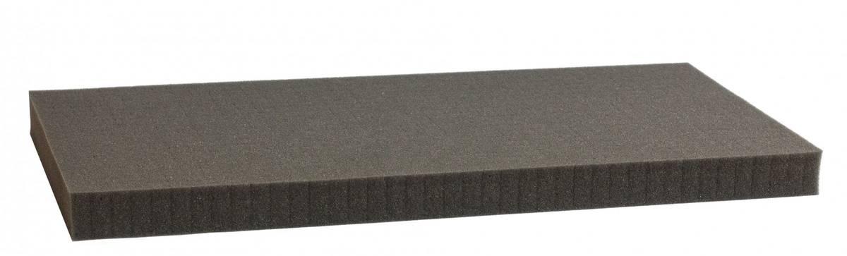 850 mm x 450 mm x 30 mm Rasterschaumstoff Würfelschaum - Rasterweite 15 mm