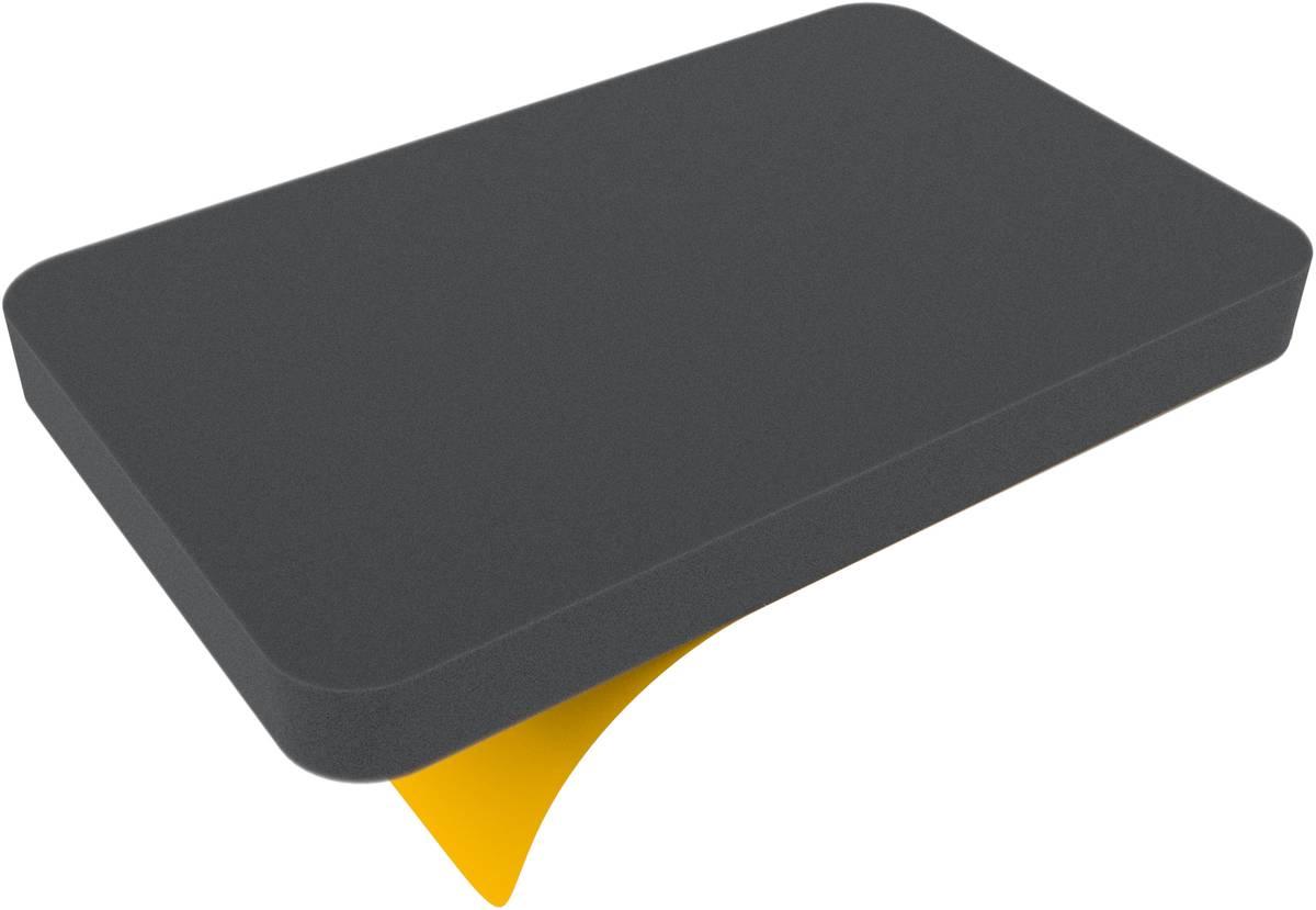 HS025BS 25 mm (1 inch) Foam Tray half-size bottom self-adhesive