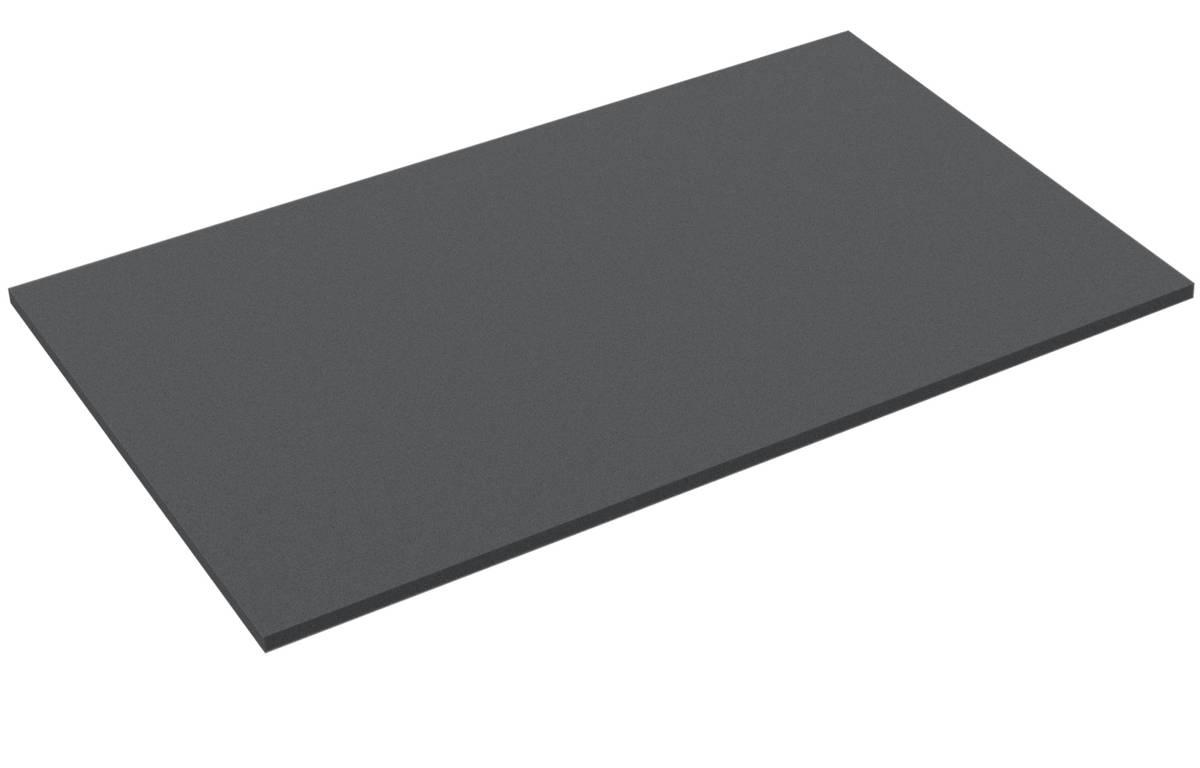 550 mm x 350 mm x 10 mm Schaumstoffzuschnitt / Schaumstoff Platte