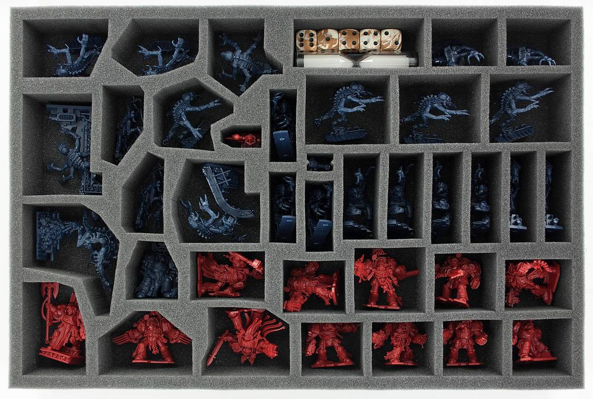AHDL053BO 53 mm foam tray for Space Hulk