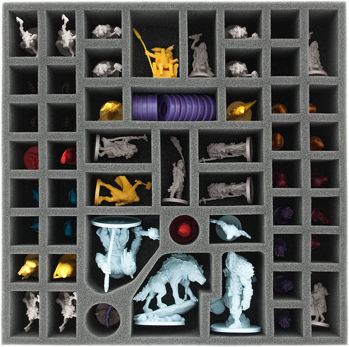 AG055BR03 55 mm foam tray for Blood Rage - Kickstarter exclusives