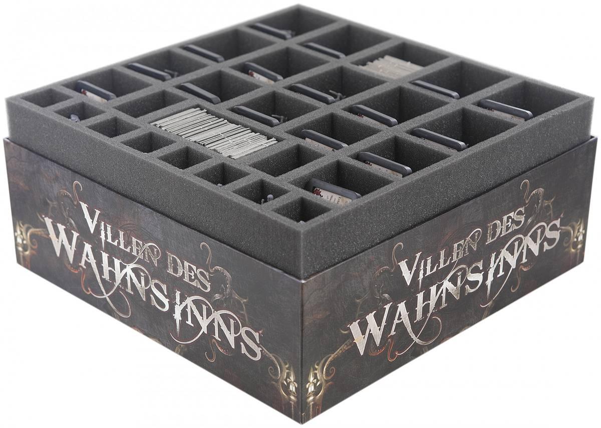 Schaumstoff-Set für die Villen des Wahnsinns 1. Edition Brettspielbox