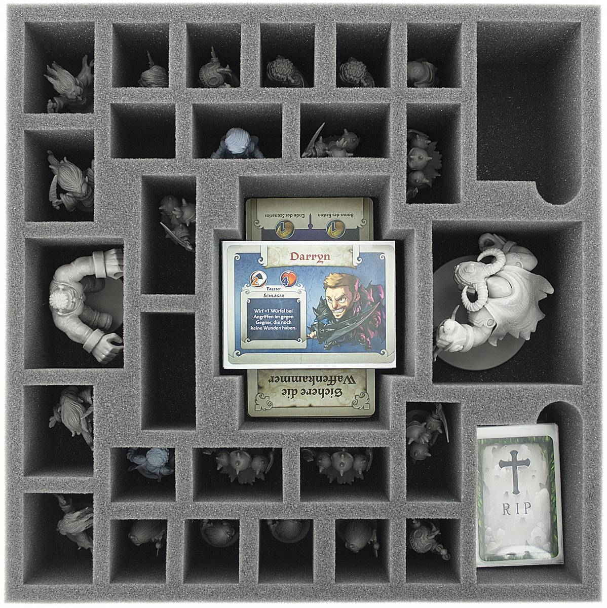 AG075AQ06 75 mm foam tray for Arcadia Quest - Beyond the Grave