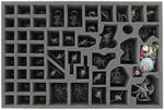 Foam tray value set for Warhammer Quest - Silver Tower board game box