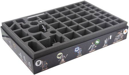 Foam tray value set for Deathwatch Overkill board game box