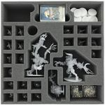 AG065ZC19 65 mm (2.56 inches) foam tray for Zombicide Black Plague Monsters and NPC's 001