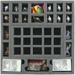Transporter with 2 LBBG boxes for for the complete Zombicide Black Plague Kickstarter Knight Pledge