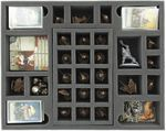 FS055ZC24 55 mm (2.16 inch) full-size foam tray with 16 compartments for Zombicide Black Plague and Wulfsburg
