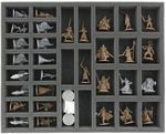 Transporter mit 2 XL Lagerboxen für Zombicide Black Plague Kickstarter Knight Pledge