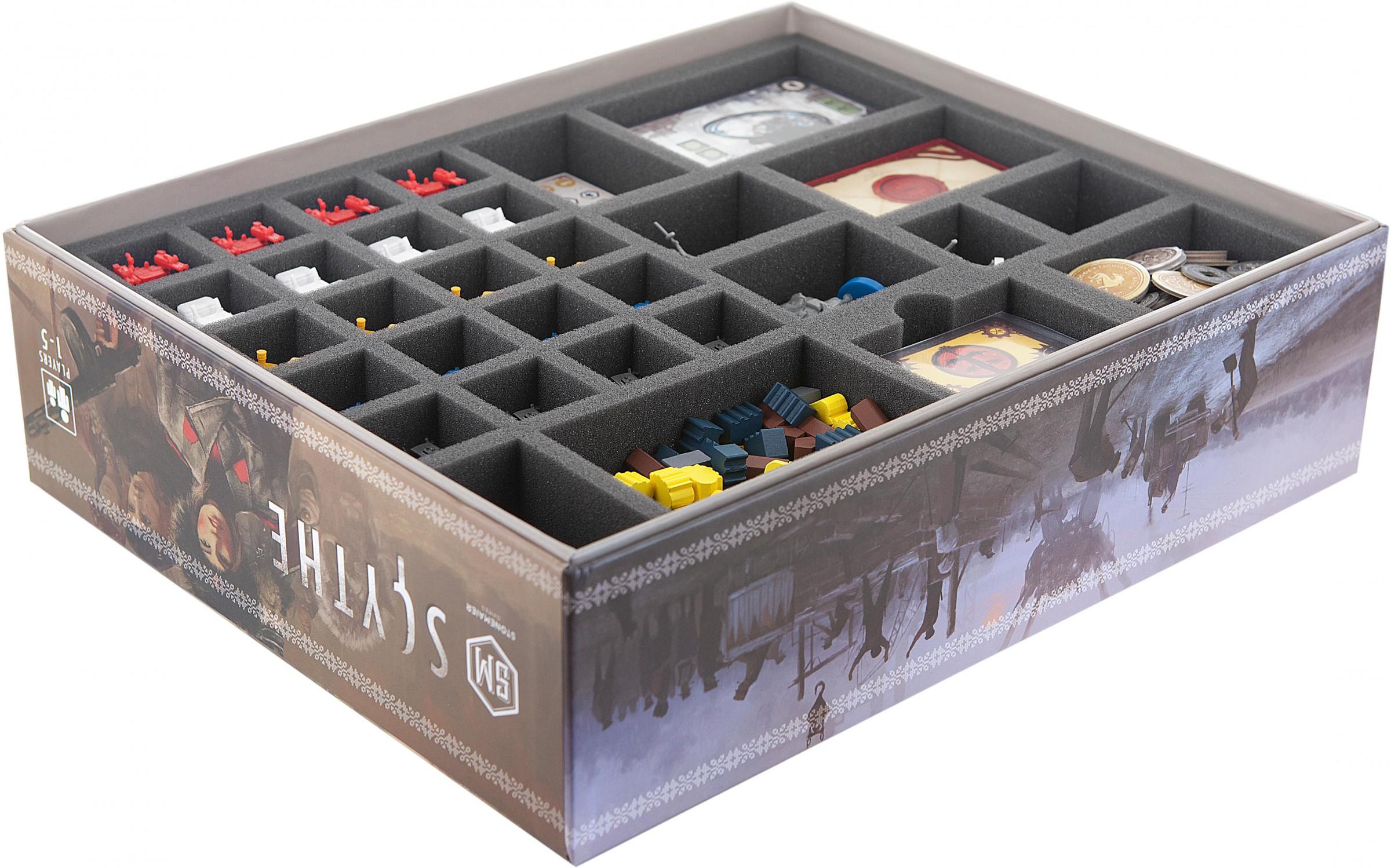 Feldherr Foam tray value set for Fallout board game box