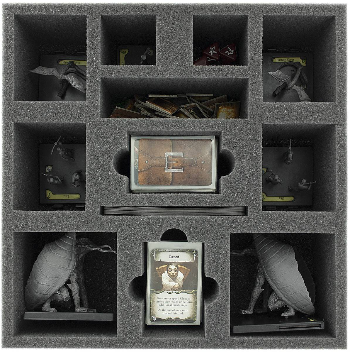 AFFQ090BO 90 mm (3.54 inches) foam tray for Mansions of Madness - 2nd Edition