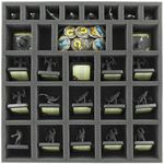 Feldherr foam tray set for Mansions of Madness Second Edition board game box