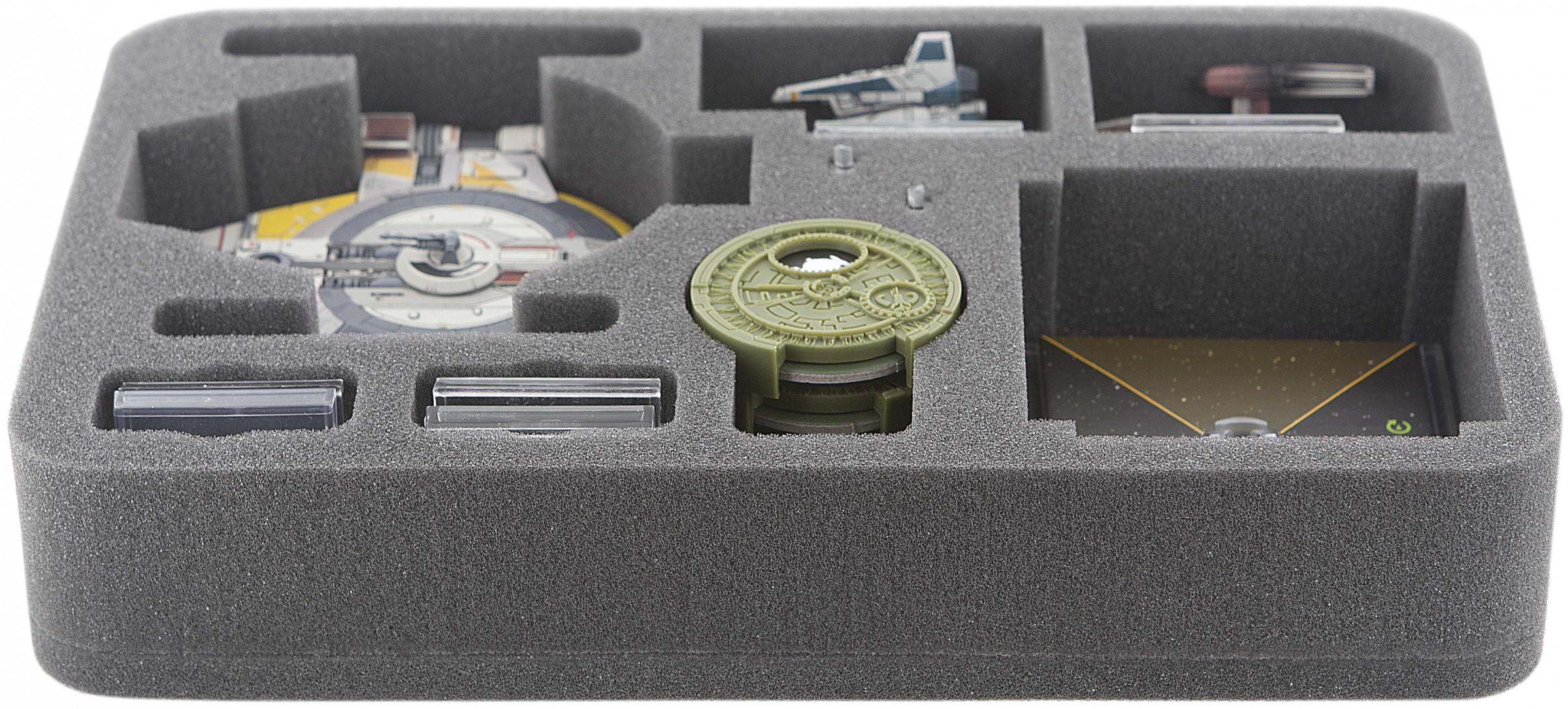 HSFZ050BO Schaumstoffeinlage für Star Wars X WING Shadow Caster, Raumschiffe und Zubehör