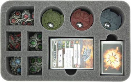 HS045XW01 foam tray for Star Wars X-WING dials, token and accessories