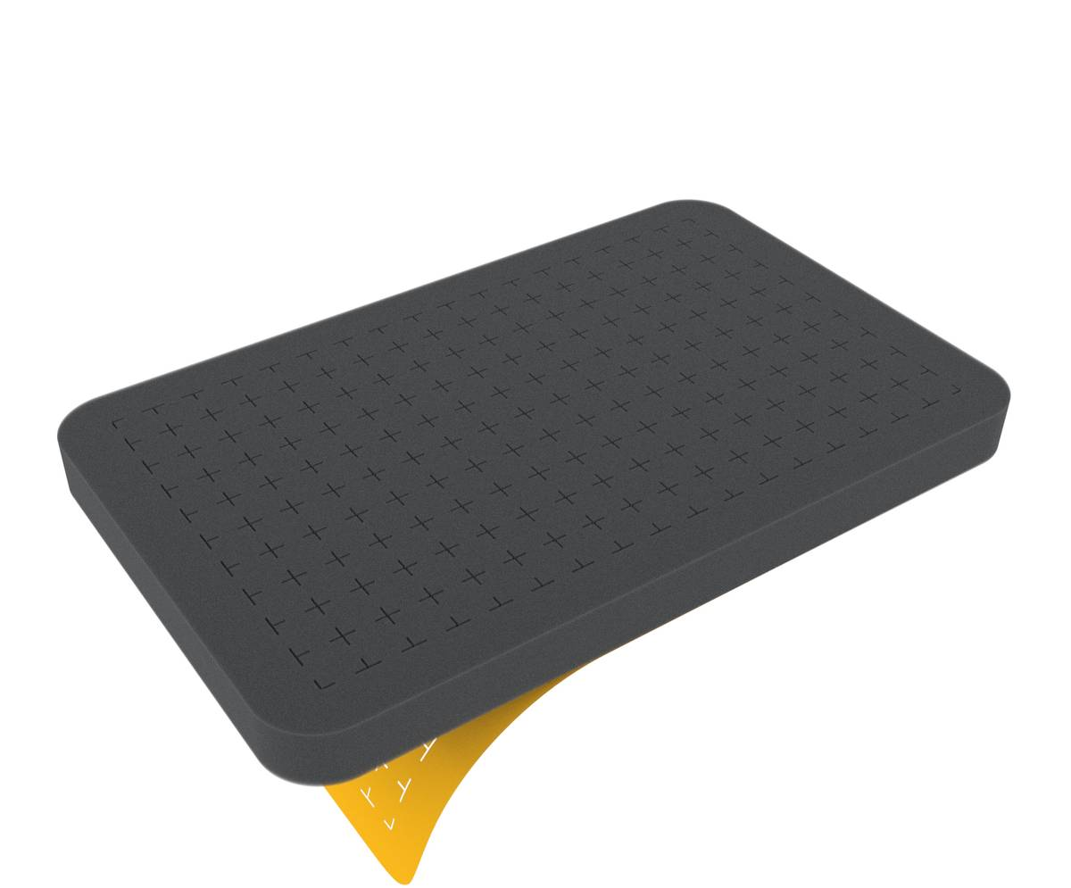 HS020RS 20 mm Figure Foam Tray half-size Pick and Pluck self-adhesive