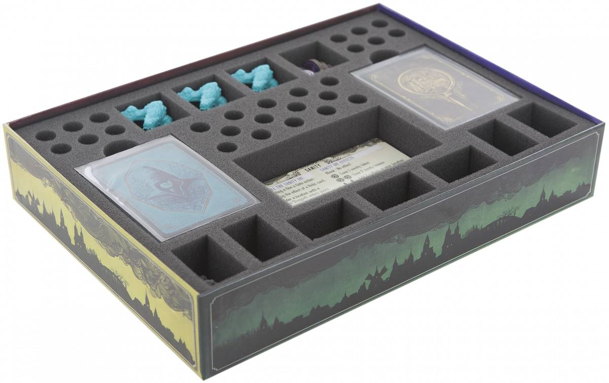 special designed foam tray for original Pandemic Cthulhu Core Box including foam-topper