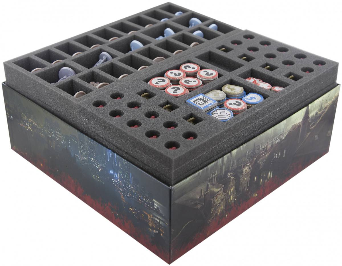 Feldherr value set for the The Others: 7 Sins base boardgame box