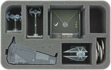 HSHX060BO foam tray for Star Wars X-WING 1 x Upsilon Class, ships and accessories
