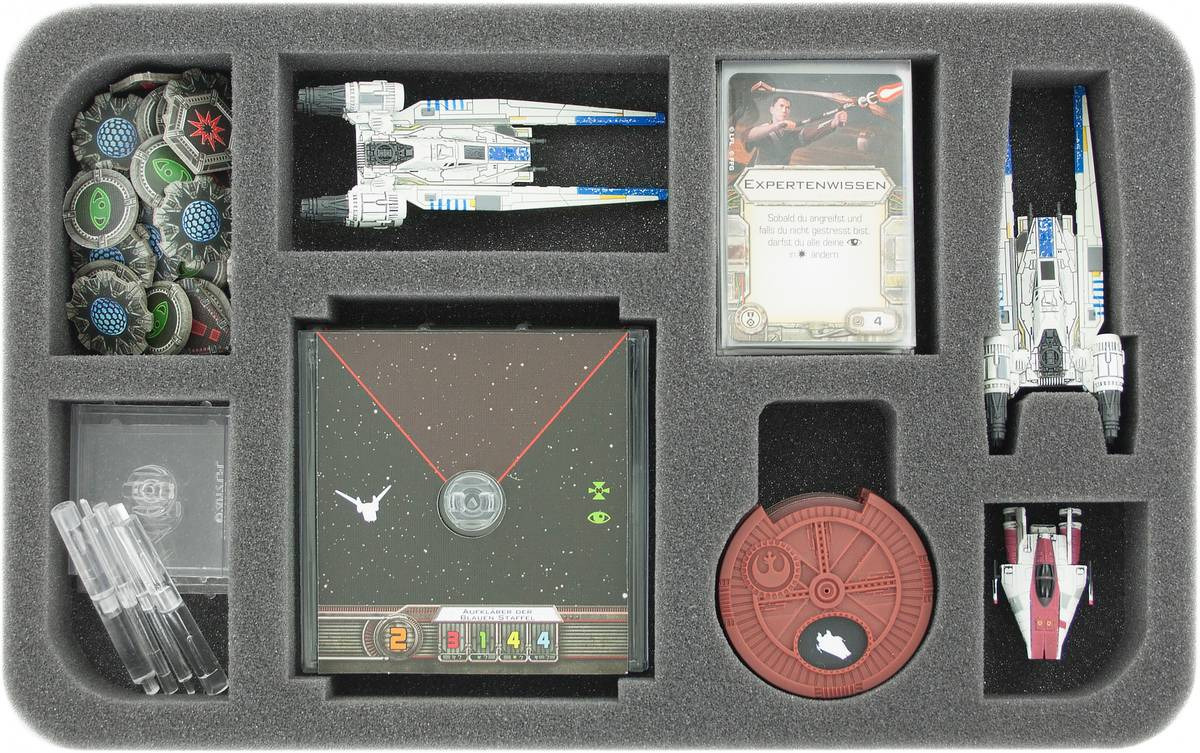 HSHQ035BO foam tray for Star Wars X-WING U-Wing, ships and accessories