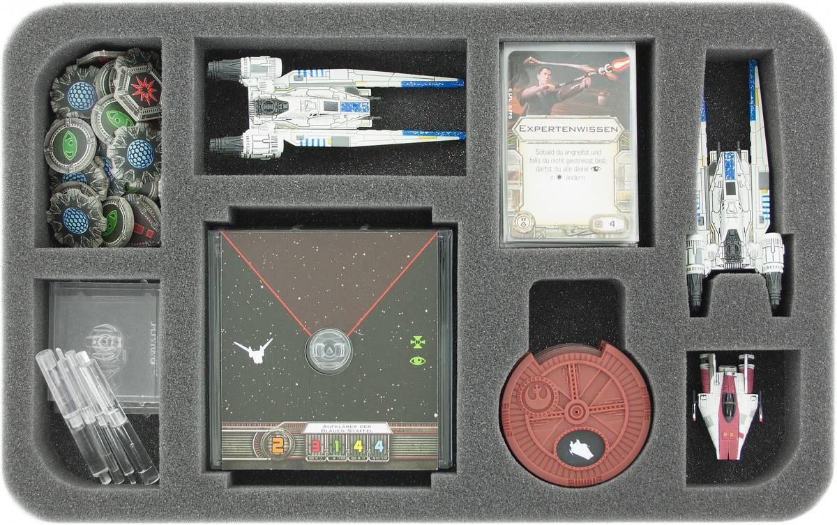 HSHQ035BO Schaumstoffeinlage für Star Wars X-WING U-Flügler, Raumschiffe und Zubehör