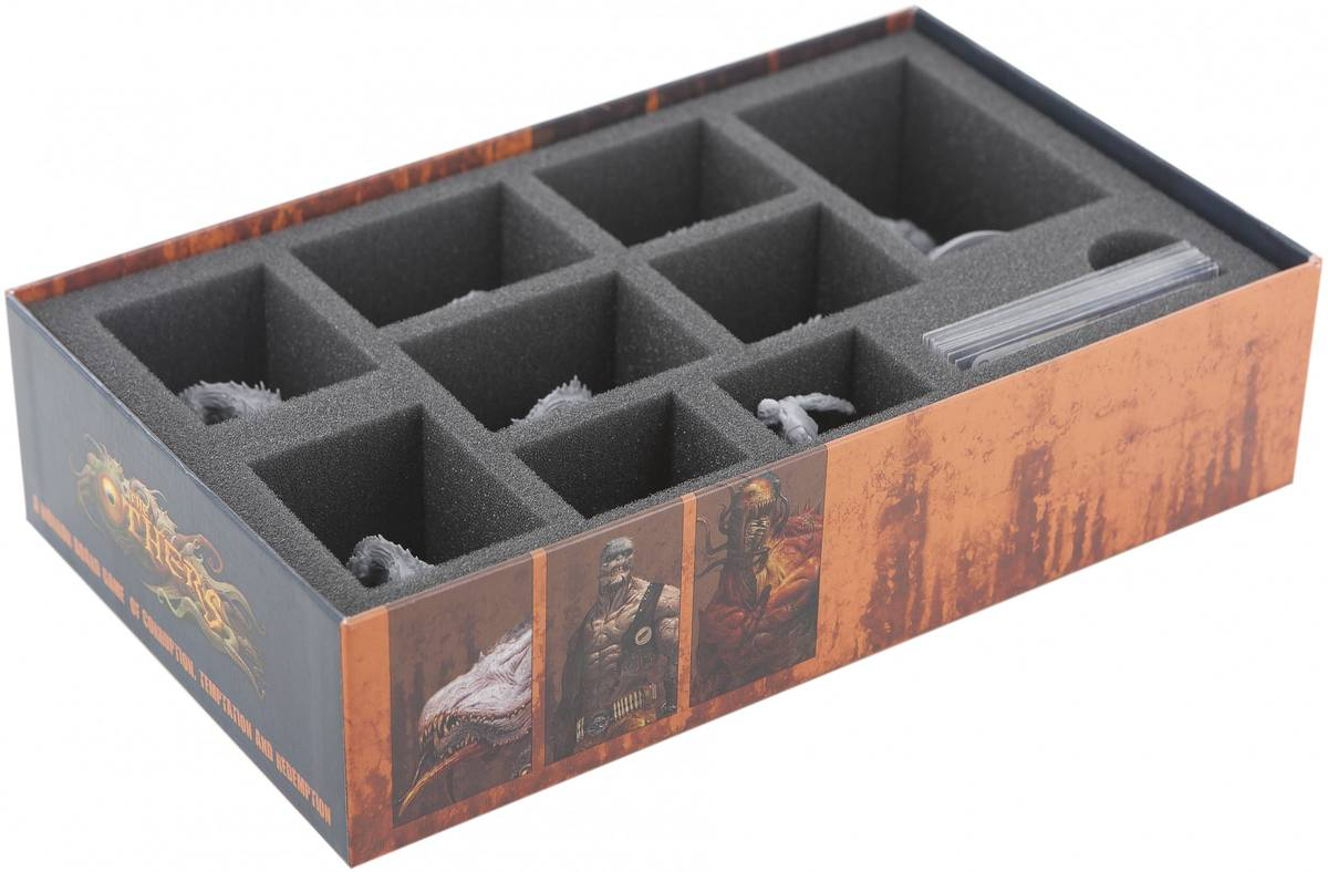 Foam tray set for The Others 7 Sins WRATH board game box