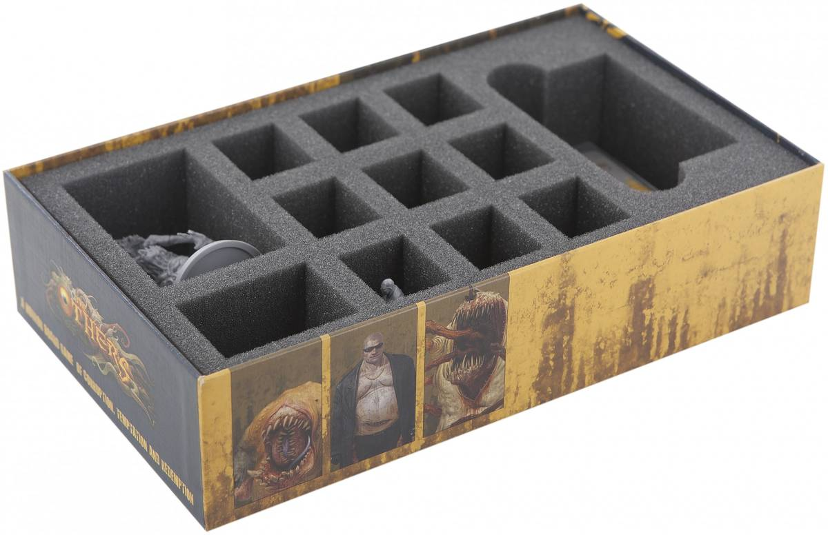 Foam tray set for The Others 7 Sins GREED board game box