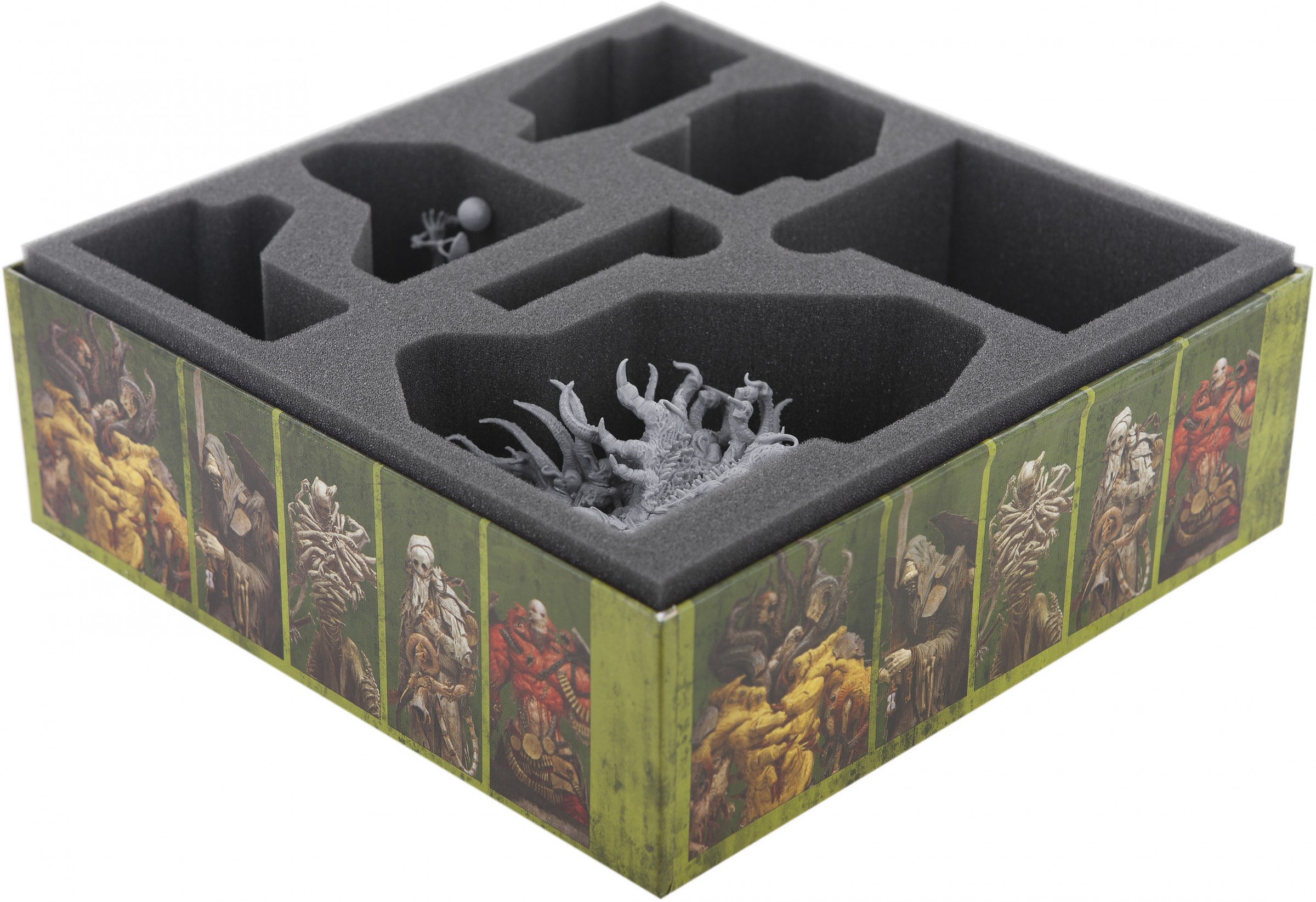 Foam Tray Value Set For The Others 7 Sins Apocalypse Board Game Box