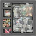 AF030DO01 30 mm foam tray with 5 compartments for DOOM - map tiles