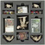 AF070DO03 70 mm foam tray with 11 compartments for DOOM - cards and big demons
