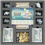 AGHR050BO 50 mm foam tray with 10 compartments for Masmorra: Dungeons of Arcadia - heroes and cards 001