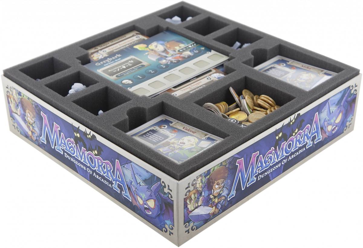 Foam tray value set for Masmorra: Dungeons of Arcadia - Core Box