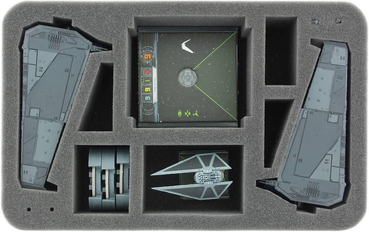HSHY060BO foam tray for Star Wars X-WING 2 x Upsilon Class, ships and accessories