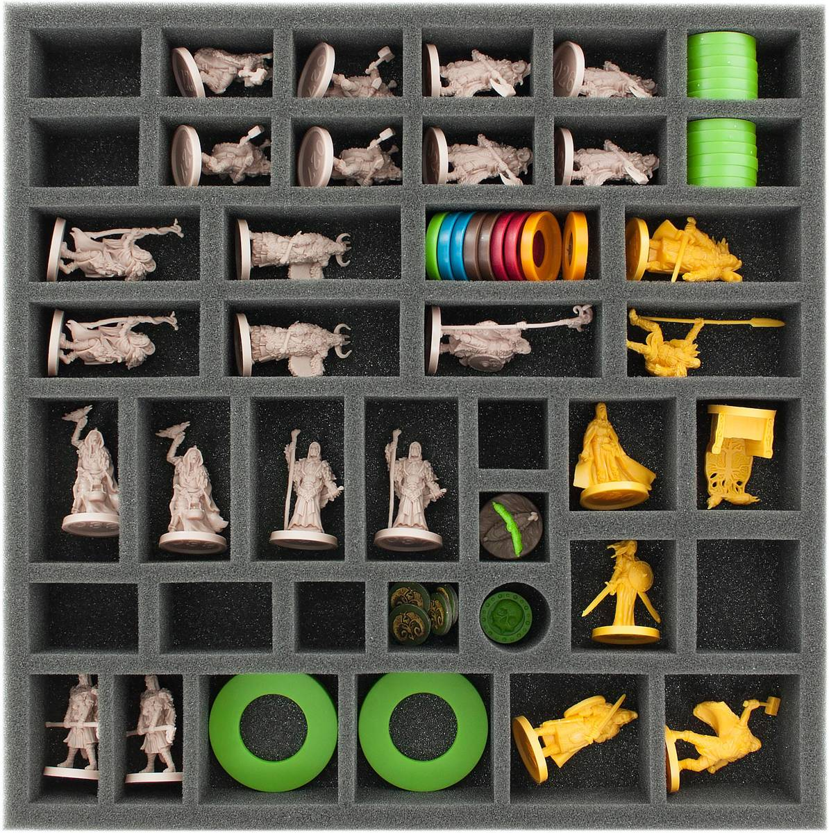 AG040BR04 40 mm foam tray for Blood Rage expansions: 5th player, Gods and Mystics